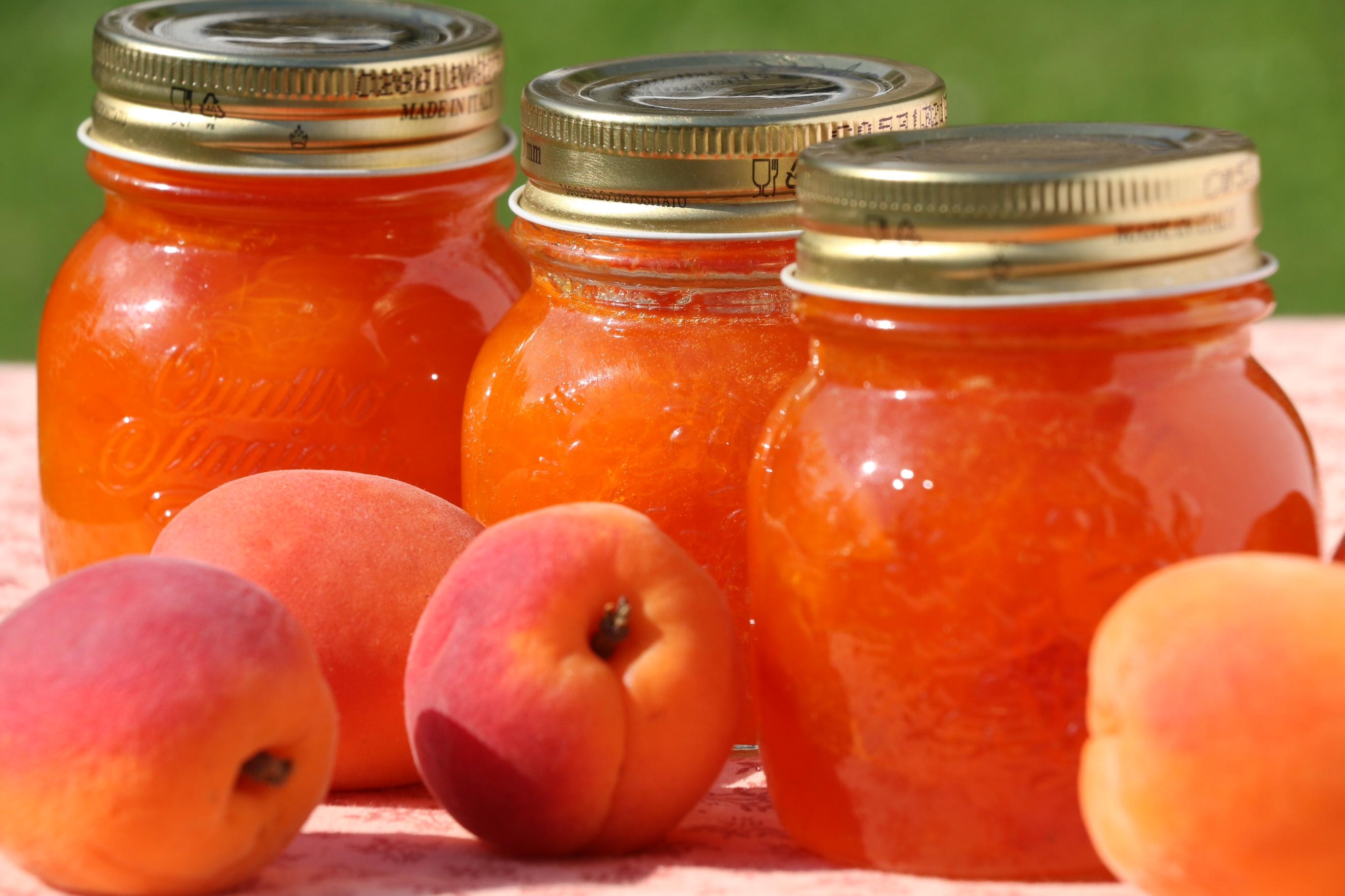 Открытка, картинки абрикосового варенья