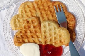 Cottage Garden Cookery Norwegian Waffles