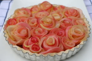 IMG_2694 rose apple tart close up straight on good