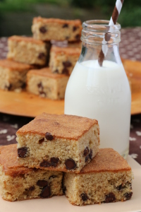 Mikey's Mom's banana chocolate chip bars