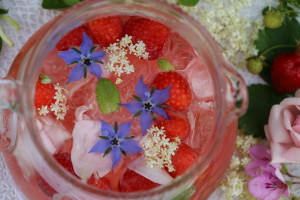 Elderflower Rose Cooler