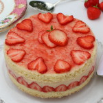 FRAISIER STRAWBERRY CUSTARD CAKE
