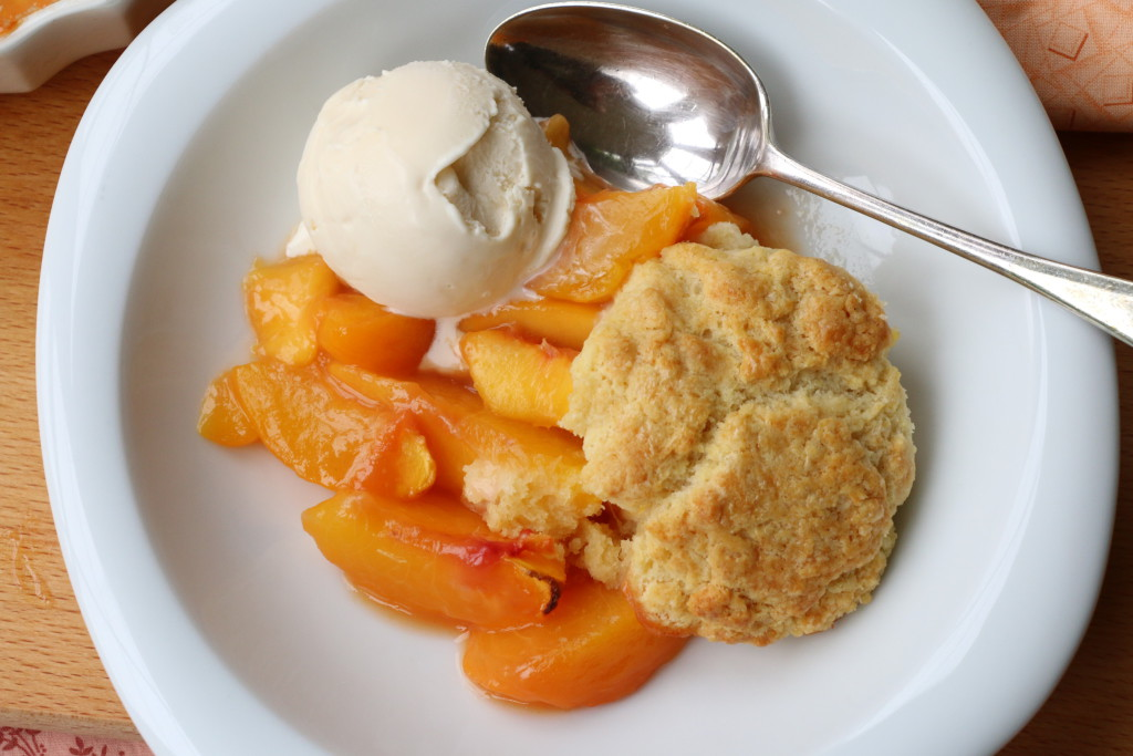 Carolina peach cobbler