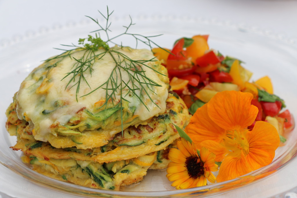 SummerCourgetteFritters