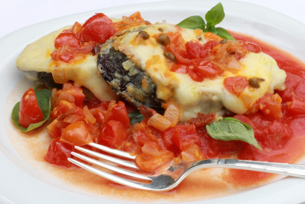 cheat's aubergine parmesan