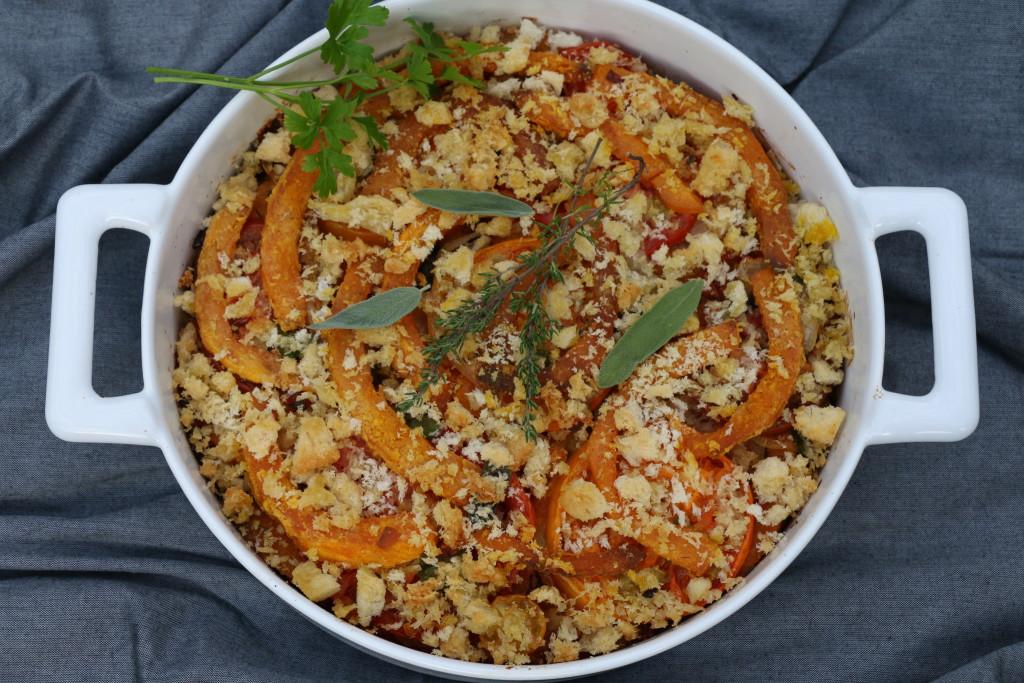 Toulouse-Lautrec pumpkin gratin cooked CN