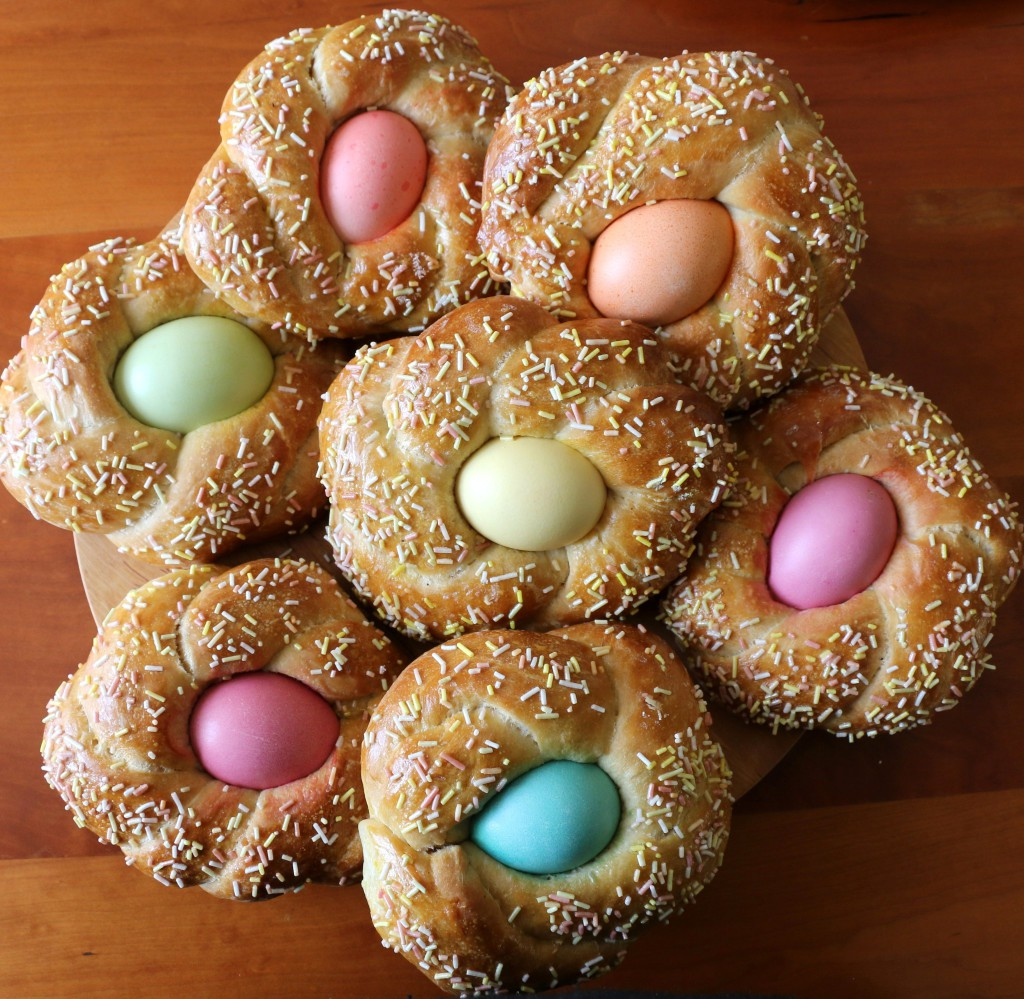 Crumbs on the Table Easter Egg Bread Nests