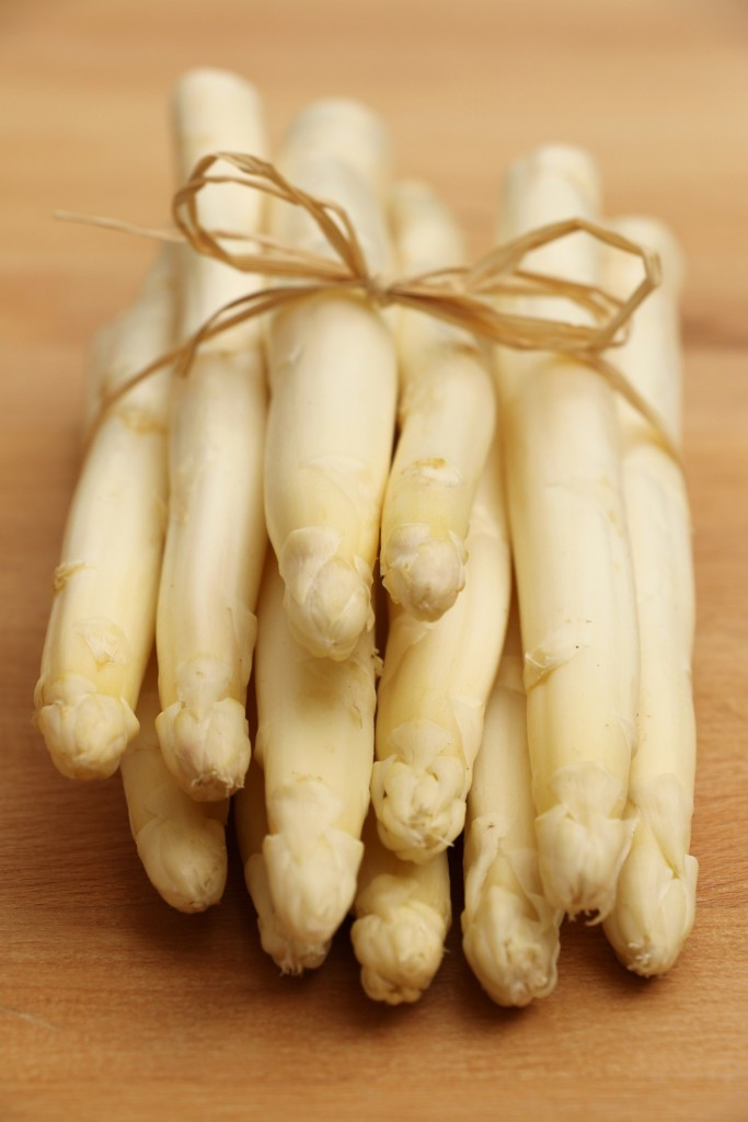 Crumbs on the Table White Asparagus