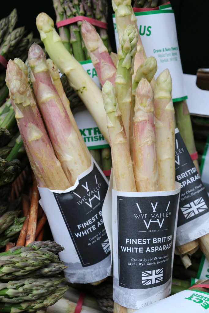 Wye Valley White Asparagus
