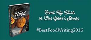 Best Food Writing Book