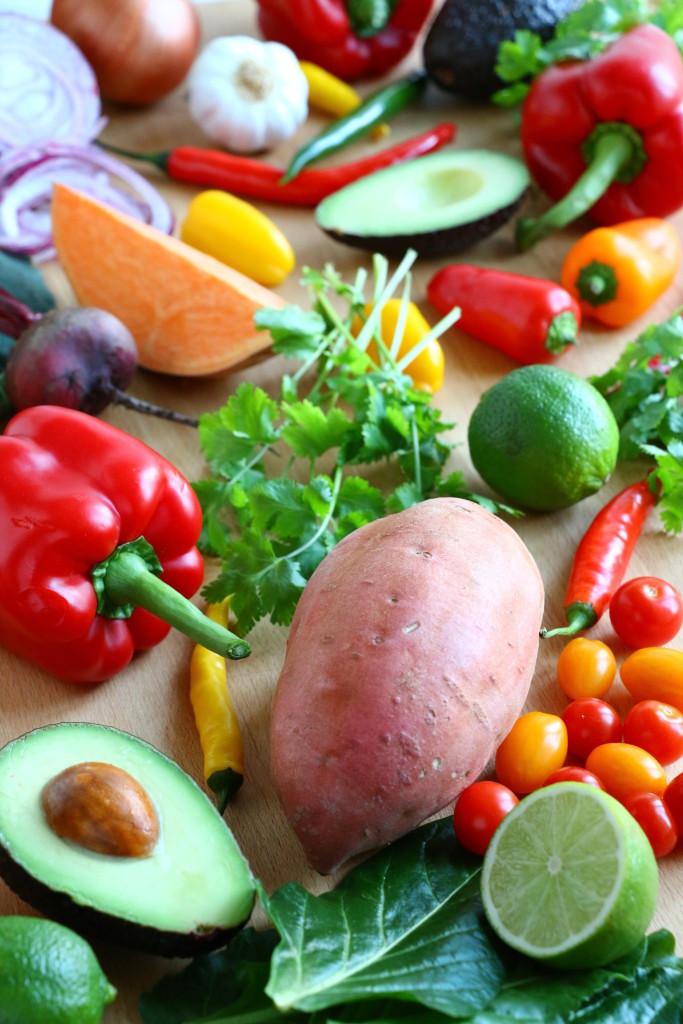 crumbsonthetable-freshingredientsfor-sweetpotatoquesadillas