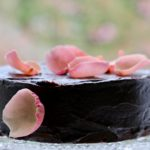 Cook it with flowers:  chocolate rose cake, and tips for making pretty salads