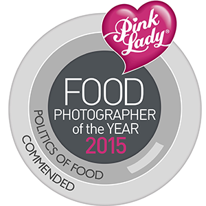 Pink Lady Food Photographer of the year 2015 - Commended