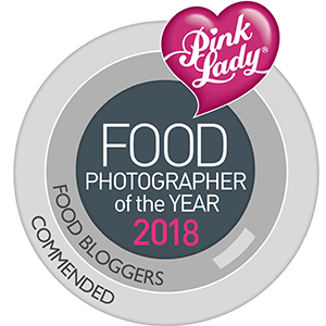 Pink Lady Food Photographer of the year 2018 - Commended