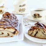 Cinnamon rolls, twists and wreaths: one recipe, four shapes