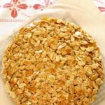 Toscakaka:  Scandinavian caramelised almond cake